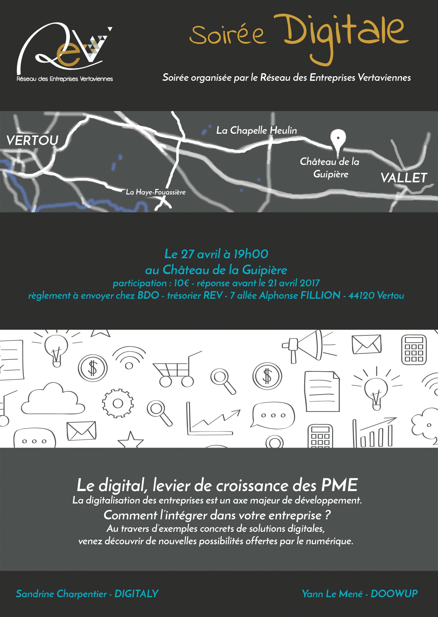 Magnifique INVITATION SOIREE DIGITALE - LE 27 AVRIL A 19H00 - Réseau des #KQ_32